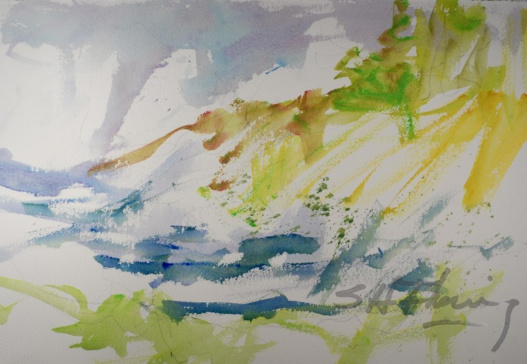 In The Studio Just Paint 24 Turbulent Air Steven H